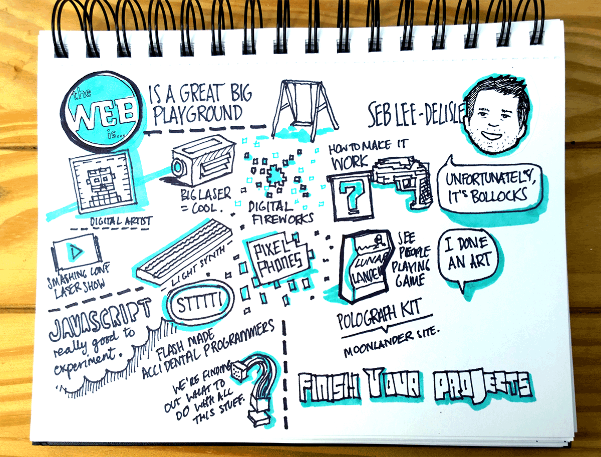 Seb Lee Delisle - The Web is a great big playground